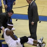 Random image: Andray Blatche Shoulder Strain Photo